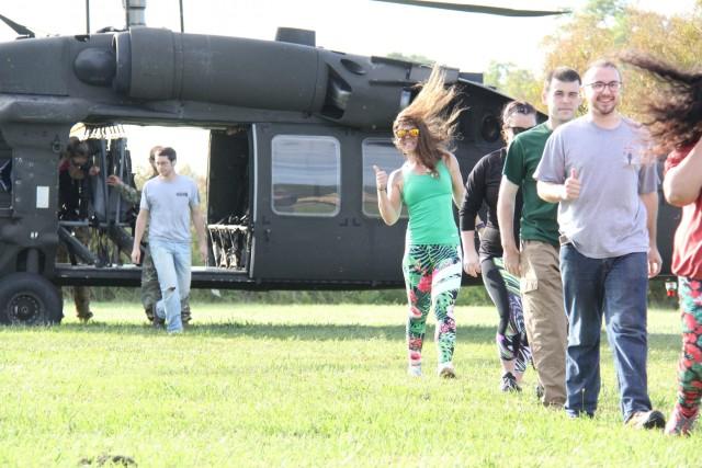 Polk exits UH-60 Blackhawk