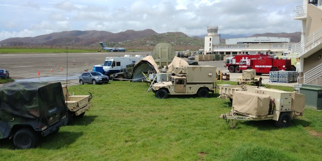 The Army's 35th TTSB Is Providing the Communication Backbone for What Is A Civil Response