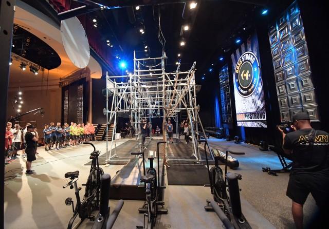 BOSS Strong Championship competitors meet Alpha Warrior Battle Rig