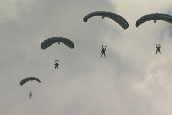 Airborne Special Forces test new Parachute Navigation System at Ft. Bragg