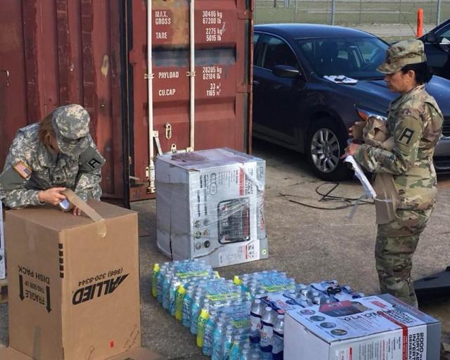 120th 'Bayonet' Brigade sends relief supplies to Puerto Rico