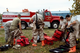Washington National Guard and first responders train together