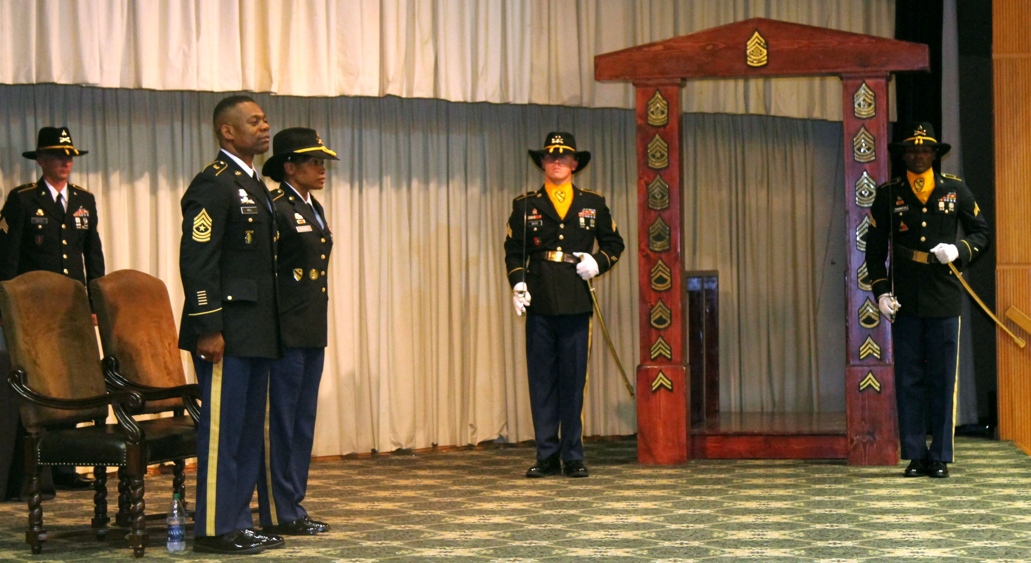 Wagonmasters Conduct Nco Induction Ceremony Article