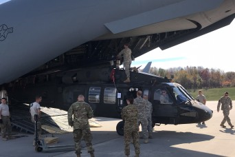 Pennsylvania National Guard sends personnel and aircraft to Puerto Rico for support