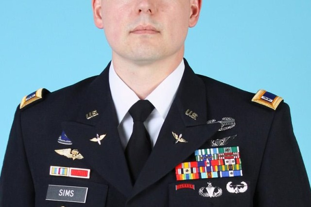 Chief Warrant Officer 2 Jacob M. Sims died Oct. 27 in Logar Privince, Afghanistan, of wounds sustained from a helicopter crash. He was assigned to 4th Battalion, 160th Special Operations Aviation Regiment.