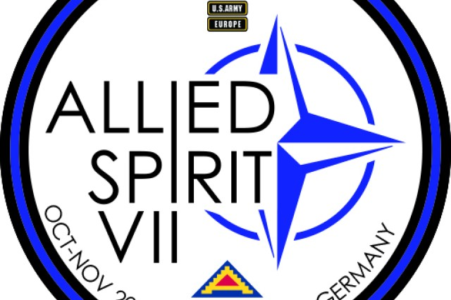 Approximately 4,050 service members from 13 nations are participating in exercise Allied Spirit VII at 7th Army Training Command's Hohenfels Training Area, Germany, Oct. 30 to Nov. 22, 2017. Allied Spirit is a U.S. Army Europe-directed, 7ATC-conducted multinational exercise series designed to develop and enhance NATO nations' interoperability and readiness.