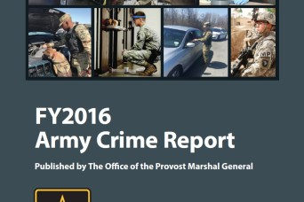 FY2016 ARMY Crime Report