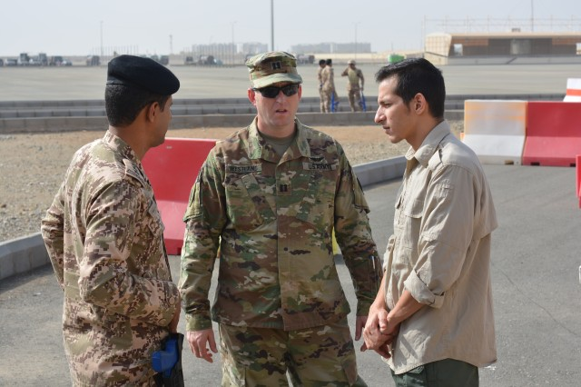 The Army Reserves has continually supported the U.S. Army Security Assistance Command's Ministry of Interior-Military Assistance Group by providing qualified personnel for deployments to the Kingdom of Saudi Arabia.