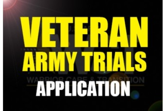 Veteran application now available for the 2018 Army Trials