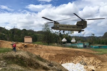 Army Engineers continue significant progress in Puerto Rico hurricane recovery operations