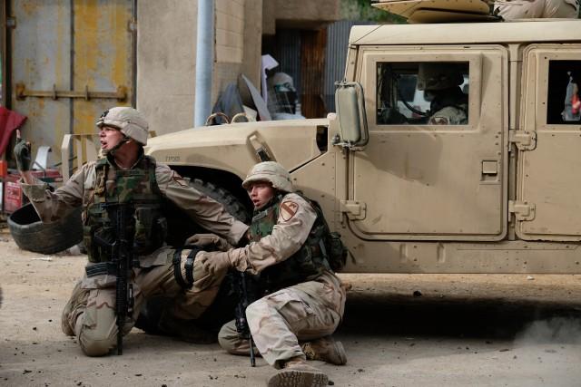 Veterans of 'Black Sunday' help recreate Iraq ambush in upcoming TV miniseries
