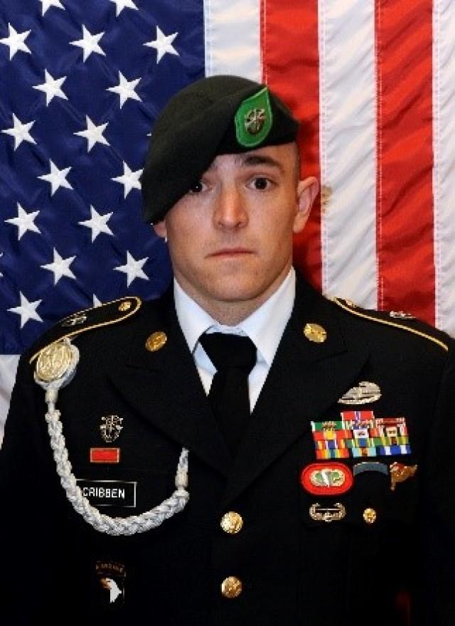 Sgt. 1st Class Stephen B. Cribben