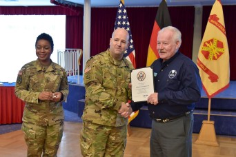 USAG RP recognizes civilian employees for length of service