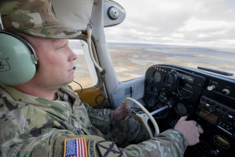 Using his own plane, recruiter flies around remote Alaska to fill Army ranks