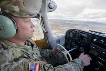 Using his own plane, recruiter flies around remote Alaska to fill Army ranks