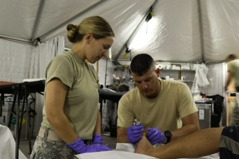 Ohio National Guard provides field medical care in Puerto Rico