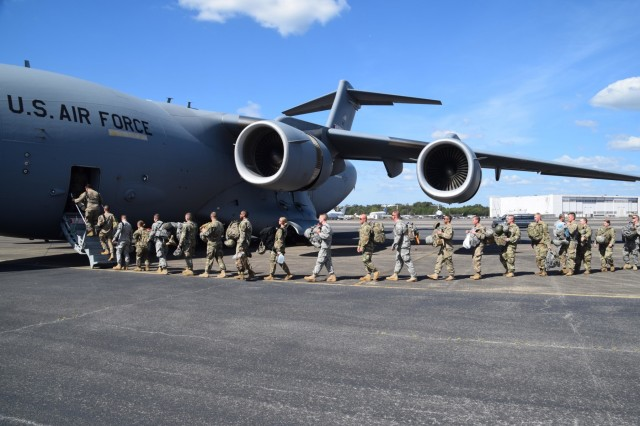 Tennessee National Guard continues supporting hurricane relief efforts