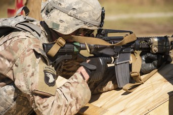 XVIII Airborne Corps Soldiers Dominate During FORSCOM Marksmanship Competition