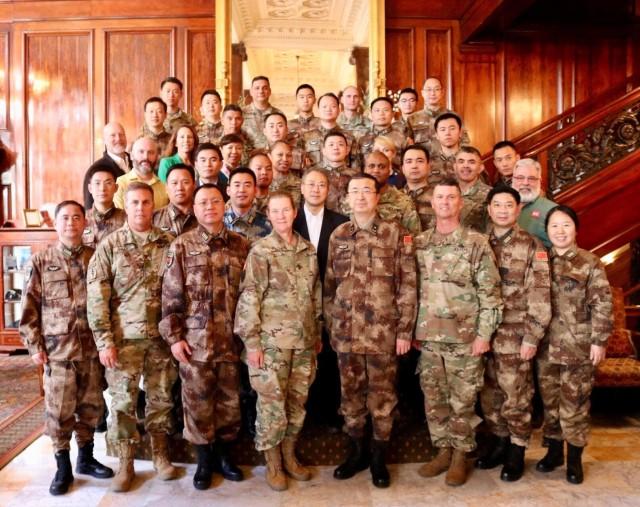 US -  China disaster management exchange