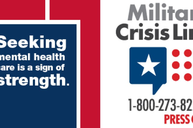 Although suicide and suicidal attempts don't happen as frequently over the holidays, learn about the available resources to provide help just in case. Servicemembers, including members of the National Guard and Reserves, along with their loved ones can call 1-800-273-8255 and Press 1, chat online at www.MilitaryCrisisLine.net or send a text message to 838255 to receive free, confidential support 24 hours a day, 7 days a week, 365 days a year.