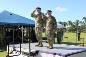 USARPAC Holds Change of Responsibility Ceremony