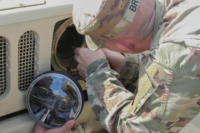Lion Brigade Soldiers Explain Importance of Maintenance during Recovery