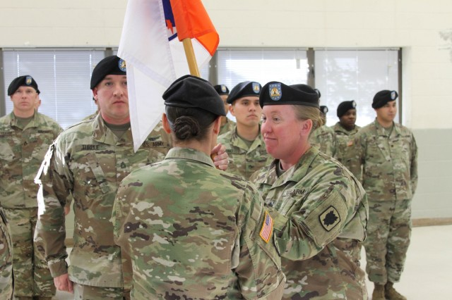 Lion Brigade Soldiers Welcome New Leader