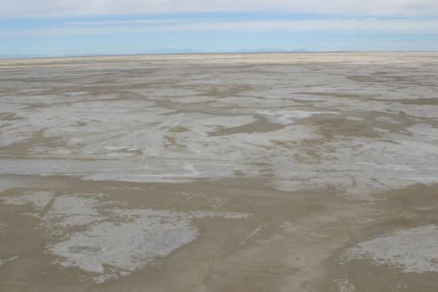 Salt-Sand Playa Terrain