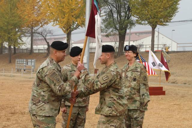 Headquarters Company 65th Medical Brigade Changes Leadership