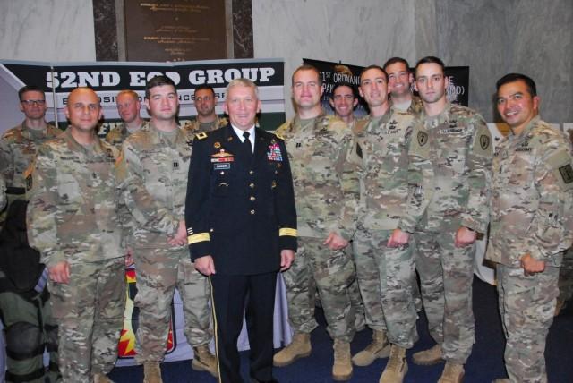Brig. Gen. Bonner joins EOD Soldiers