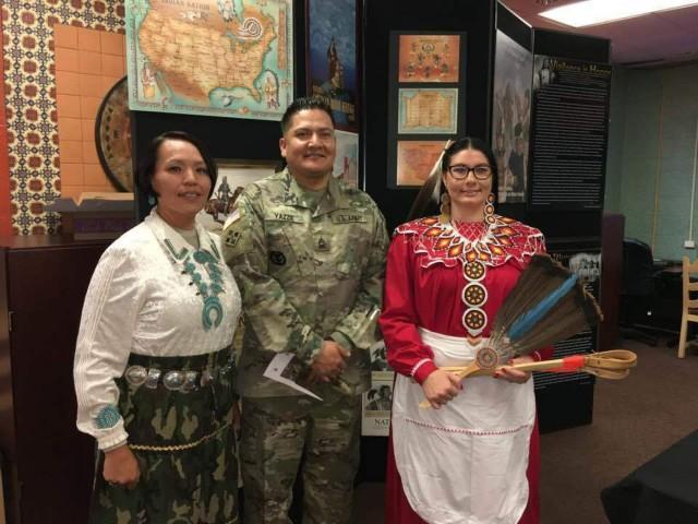 Cowboy honors Navajo Code Talkers