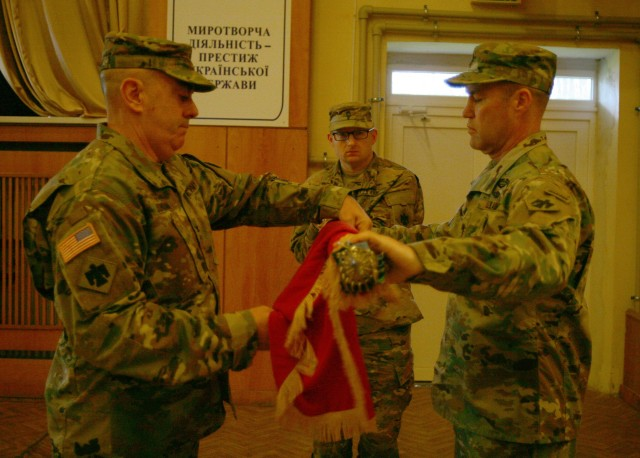 New York Army National Guard assumes command of the Multinational Training Group-Ukraine mission