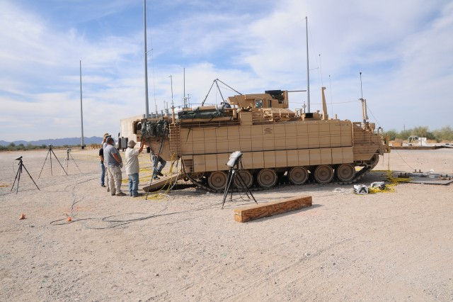 The recently developed Armored Multi-Purpose Vehicle (AMPV) is intended to dramatically increase Soldiers' transport capabilities. The AMPV's five variants have nearly 80% more interior volume than their predecessor, and significantly more power and survivability. All variants of the vehicle are slated to undergo extensive testing at U.S. Army Yuma Proving Ground (YPG).