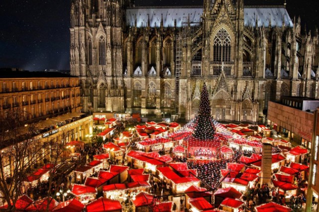 The Cologne Christmas Market will be open through Dec. 23, 2017. Every city, town or village in Germany has at least one Christmas Market (called Adventmarkt, Christkindlmarkt, Weihnachtsmarkt or Nikolausmarkt) some have even four or five.