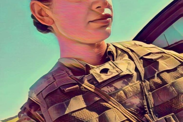 Spc. Courtney Jones