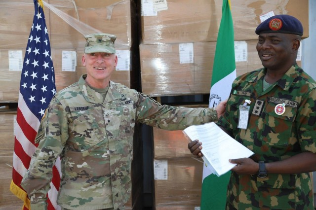 USARAF general visits Nigeria, speaks to War College