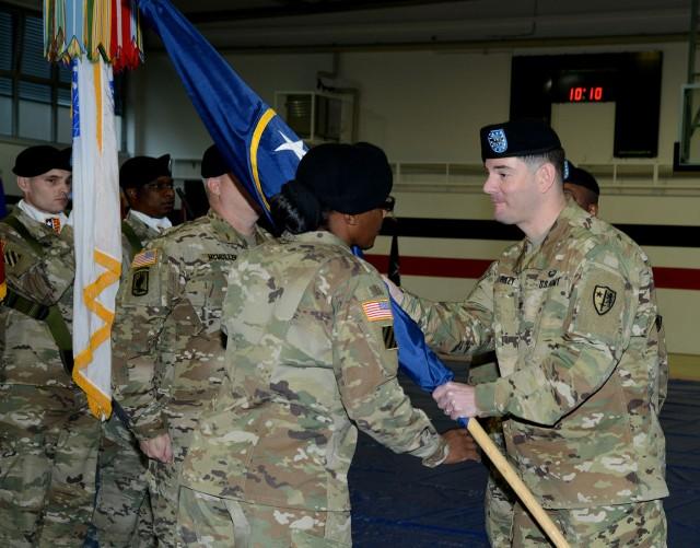 U.S. Army NATO Brigade changes senior enlisted leadership