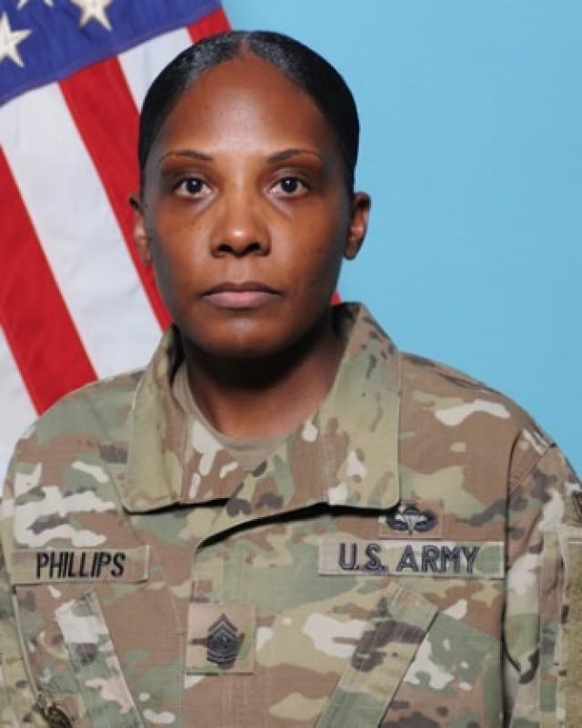 Command Sgt. Maj. Bernadette Phillips