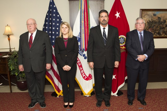New Civilian Aides to the Secretary of the Army invested