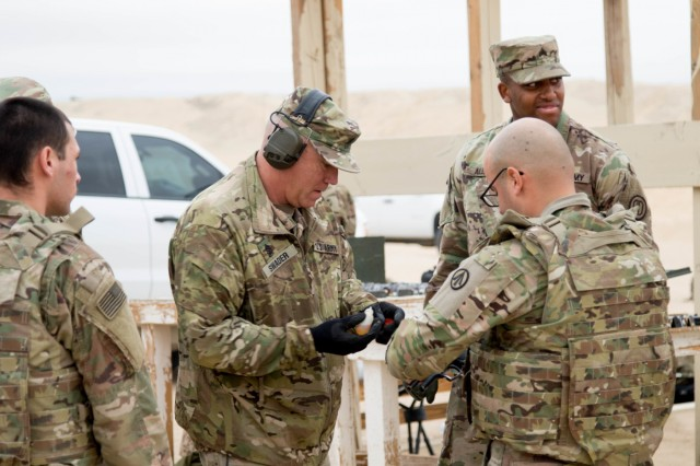 Coalition forces participate in GAFPB