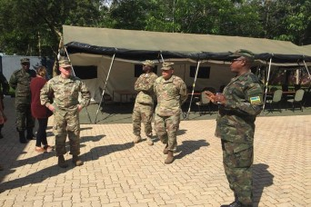 Rwanda Defence Force hosts the U.S., Netherlands for Peacekeeping Exercise Planning