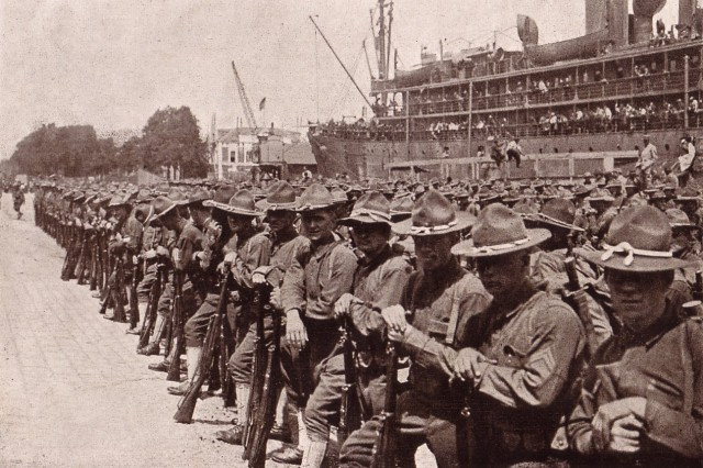 Echoes of World War I   Article   The United States Army