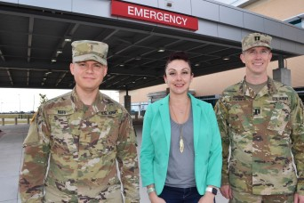 'An asset to the community': Military medical trio saves life of civilian at restaurant