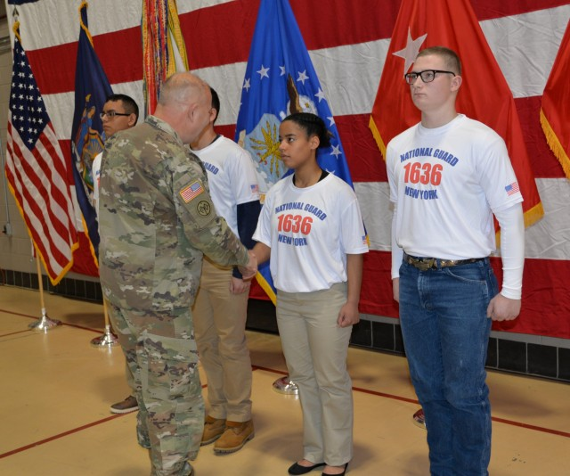New York National Guard salutes Army Guard recruits during 381st Guard birthday event