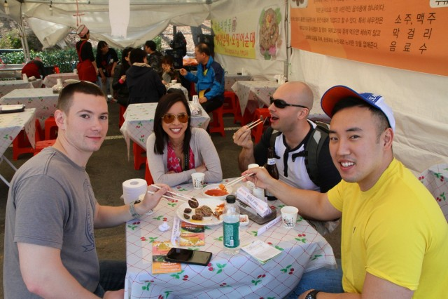 19th ESC visits strawberry festival