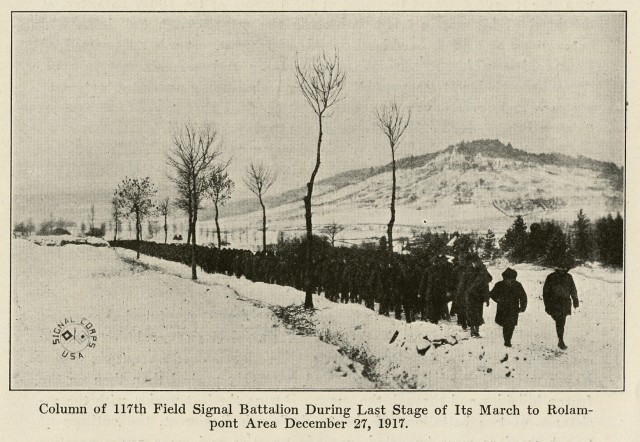 """42nd Division's 1917 """"Valley Forge Hike"""""""