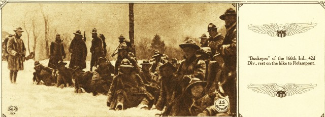 """42nd Infantry Division's 1917 """"Valley Forge Hike"""""""