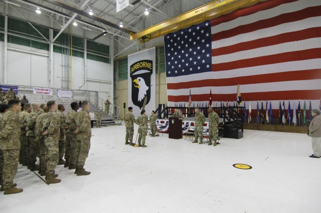 227th CSC Soldiers return home after nine-months in support of OAR
