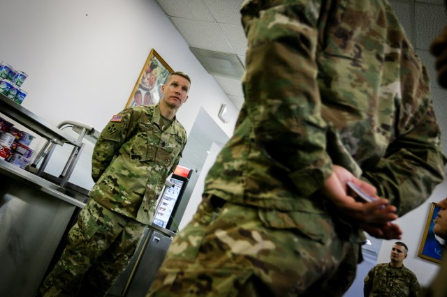 SMA visits Soldiers in Poland