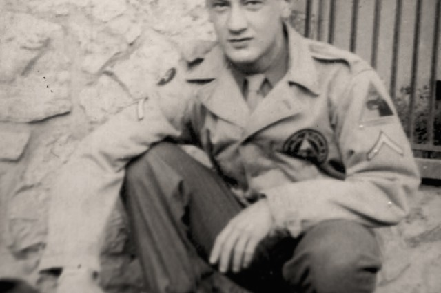 Pfc. Harry Miller dropped out of high school to enlist in the Army. He arrived in Europe in the fall of 1944, assigned to the 740th Tank Battalion. As a crewman in a Sherman Tank, Miller soon found himself immersed in the Battle of the Bulge. Miller retired as a senior master sergeant after 22 years of service. After Helen, his wife of 37 years, died, Miller moved to the Armed Forces Retirement Home in Washington, D.C.